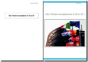 De l'Union européenne à 15 à 27