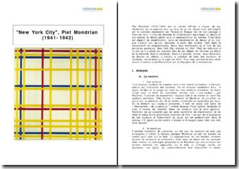 New York City, Piet Mondrian (1941-1942)