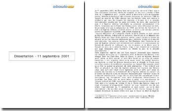 Luigi Condorelli, « Les attentats du 11 septembre et leurs suites : où va le droit international ? » à la lumière de l'article 51 de la Charte des Nations Unies