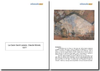 La Gare Saint-Lazare, Claude Monet (1877)