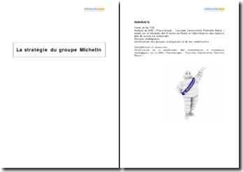 La stratégie du groupe Michelin