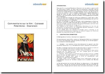 Commentaire sur le film : Cuirassé Potemkine, d'Eisenstein