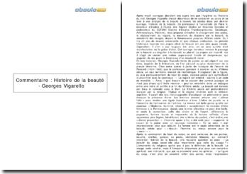 Histoire de la beauté - Georges Vigarello