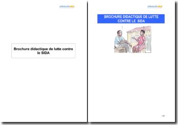 Brochure didactique de lutte contre le SIDA