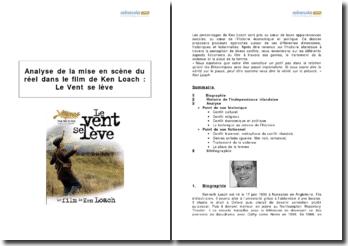 Analyse de la mise en scène du réel dans le film de Ken Loach : Le Vent se lève