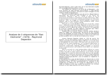 Analyse de 3 séquences de San Clemente (1979) - Raymond Depardon