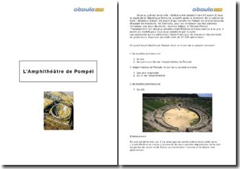 L'amphithéâtre de Pompéi: miroir de la société romaine