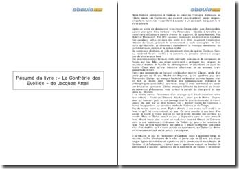 « La confrérie des éveillés » de Jacques Attali