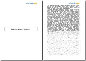 L'empereur Charles Quint : Cronica del emperador Carlos Quinto - Alonso de Santa Cruz
