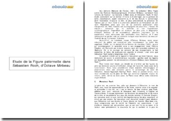 Etude de la figure paternelle dans Sébastien Roch - Octave Mirbeau