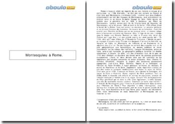 Voyages, Tome 1 - Montesquieu: Voyage en Italie