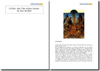 L'Enfer, des Très riches heures du Duc de Berry