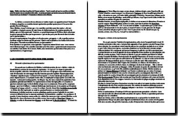Dissertation sur le théâtre : à lire ou à représenter ?