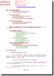 Baudelaire, Parfum exotique