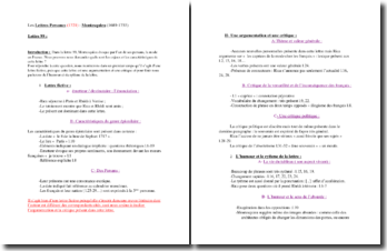 Montesquieu, Lettres Persanes, Lettre 99