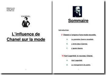 L'influence de Chanel sur la mode