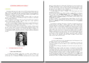Dissertation : La Fontaine, Homme du 17e siècle