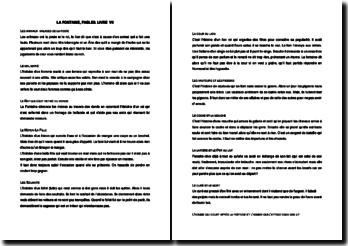 La Fontaine, Fables, Livre 7