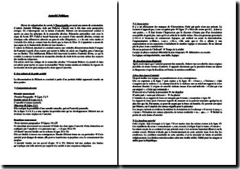 Diderot, Autorité Politique