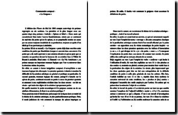 Baudelaire, Le guignon