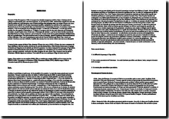 Dossier sur Boris Vian