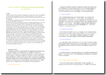 Fontenelle, Histoire des Oracles, Lecture analytique