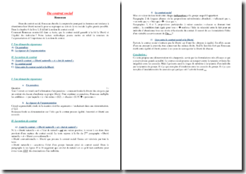 Rousseau, Du contrat social, Chapitre 6 du livre I