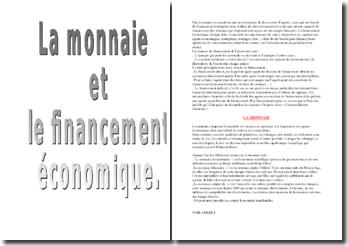 La monnaie et le financement de l'économie - les politiques monétaires et leur évolution depuis les années 80