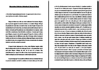 Dissertation littéraire : Rodenbach, Bruges-la-Morte