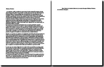 Lettre de motivation pour Bi-Licence Histoire / Science Politique