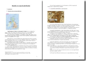 Le voyage de Saint Brendan, v. 781 à 822 (Benedeit)