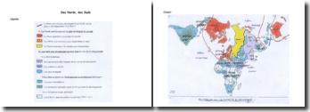 Croquis de géographie : des Nords, des Suds