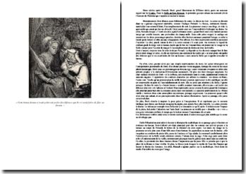 Etude sur l'illustration de Gustave Doré de la Belle au bois dormant