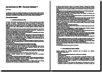 La candidature de Coluche aux présidentielles de 1981