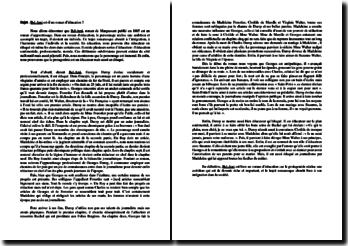 Dissertation sur Bel-Ami de Maupassant