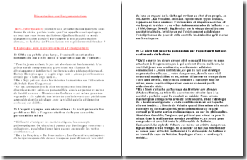 L'argumentation en français