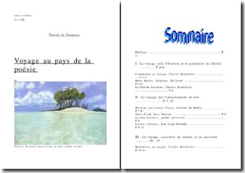 Le thème du voyage dans la poésie française