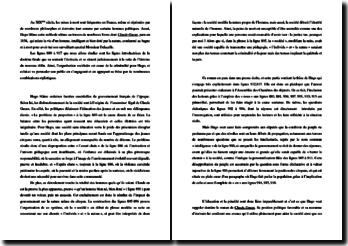 Commentaire de « Claude Gueux » des lignes 880 à 917