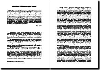 Platon, Gorgias : Discours de Calliclès