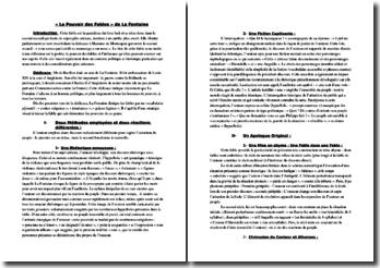 « Le Pouvoir des Fables » de Jean de La Fontaine - un éloge contrasté