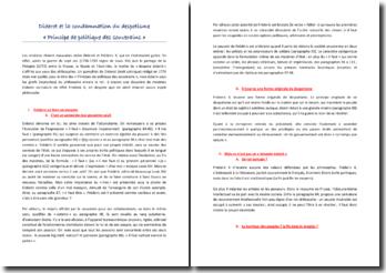 Diderot et la condamnation du despotisme : « Principe de politique des souverains »