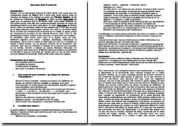 Dom Juan, Acte IV, Scène 3 - Molière : l'arrivée de M. Dimanche