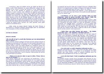Musset, Lorenzaccio, Acte I, Scène 5