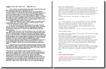 Thomas More, Utopie, Livre II, Extrait