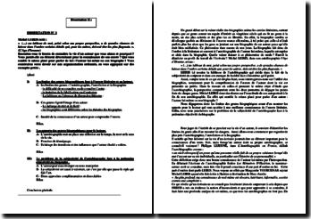 Dissertations sur le genre autobiographique
