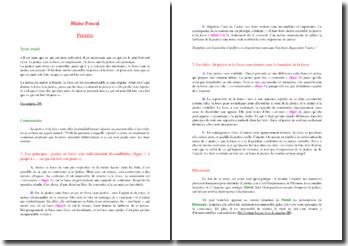 Pascal, Pensées : paragraphe 298 (la justice et la force)