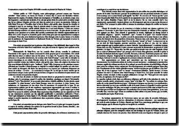 Chapitre 16 (Elle consulte un jésuite) de L'Ingénu de Voltaire