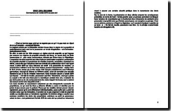 Commentaire de l'article 2279 du Code civil