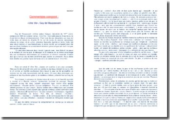 Maupassant, Une Vie, Chapitre IV : La nuit de noces de Jeanne
