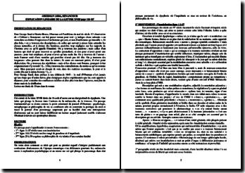 Senancour, Oberman, Lettre XVIII